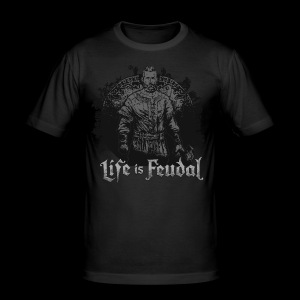 Life is Feudal SteamBadge 2 - Tee shirt près du corps Homme