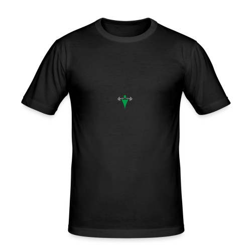 simple logo - Männer Slim Fit T-Shirt