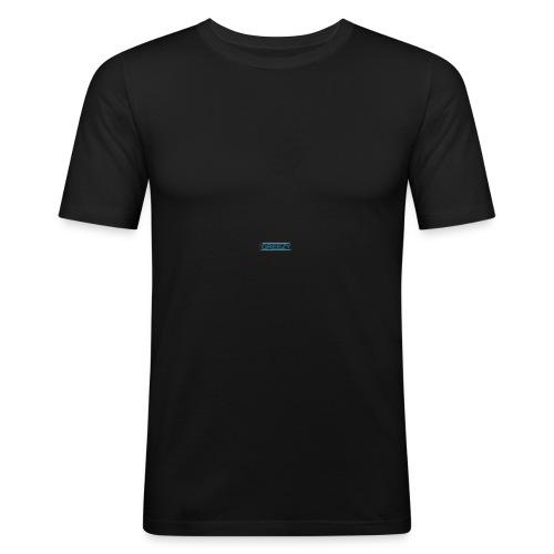 GREEZY MERCH LOGO - Men's Slim Fit T-Shirt