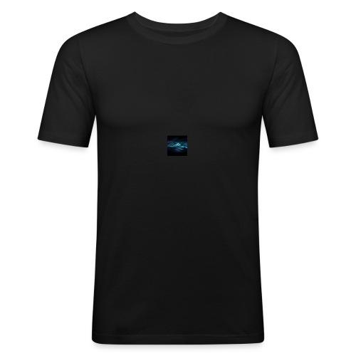 Herobrines wolf Merch - Men's Slim Fit T-Shirt