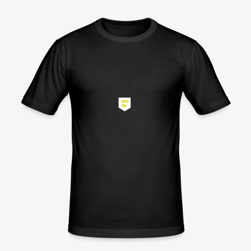 LOGO Blanc - T-shirt près du corps Homme