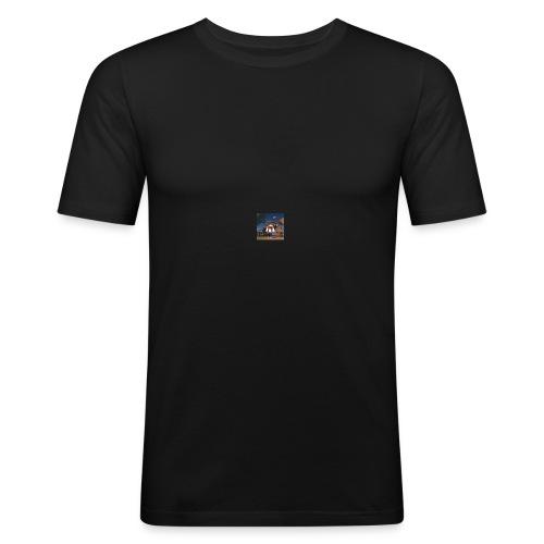 Exploro - Männer Slim Fit T-Shirt