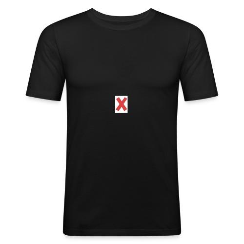 X - Maglietta aderente da uomo
