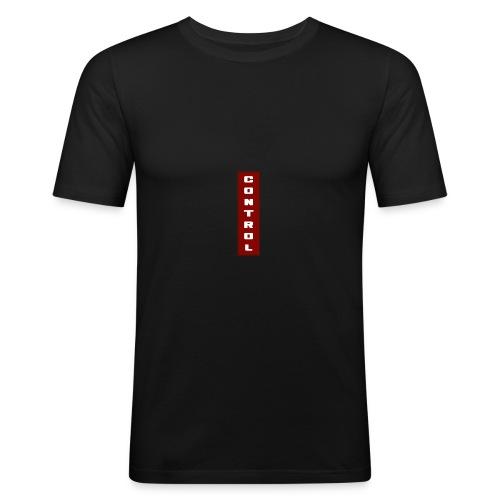 Red Control - Men's Slim Fit T-Shirt