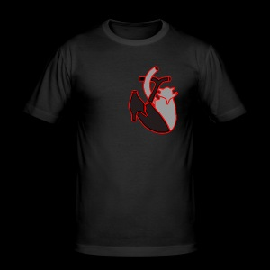 Heartbeat - Männer Slim Fit T-Shirt