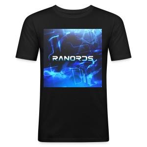 RanordsLogo - Herre Slim Fit T-Shirt