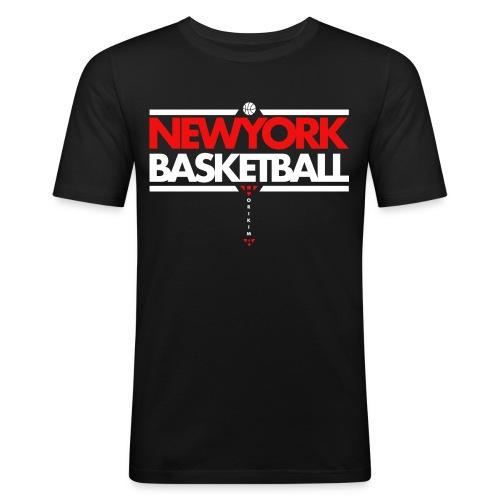 Horikima NY Basketball Men's T-Shirt - Männer Slim Fit T-Shirt