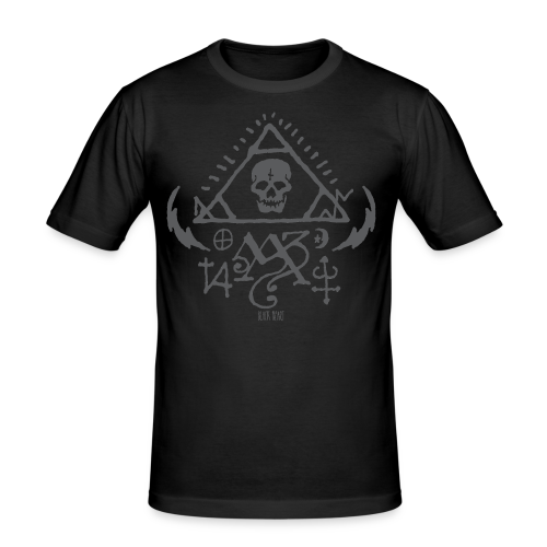 Three Sides One Being - Men's Slim Fit T-Shirt