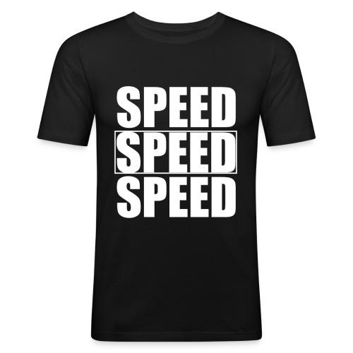 SPEED Mens MOTORSPORT Hoodie and Tee - Men's Slim Fit T-Shirt