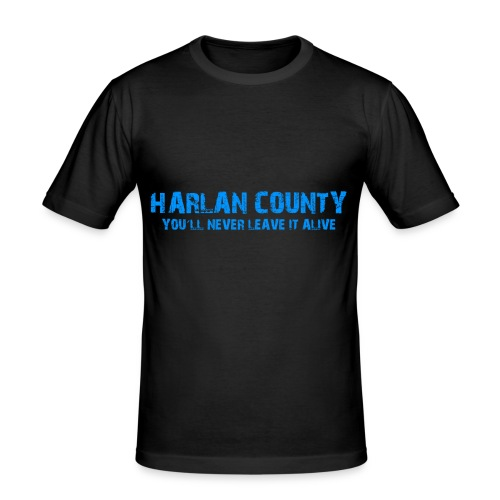 Shirt Harlan County - Männer Slim Fit T-Shirt