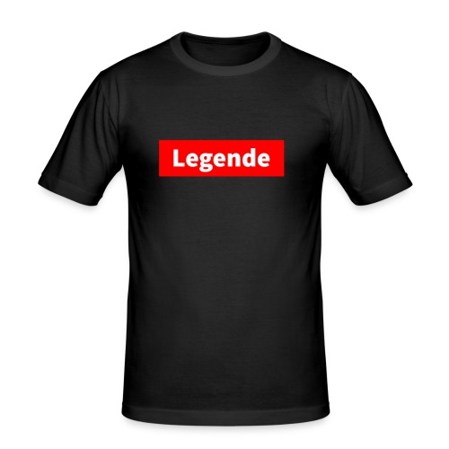 Legende - Männer Slim Fit T-Shirt