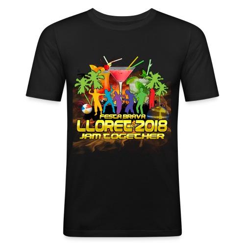 Lloret De Mar 2018 - Männer Slim Fit T-Shirt