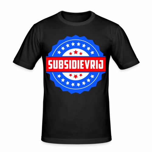 Subsidievrij - slim fit T-shirt