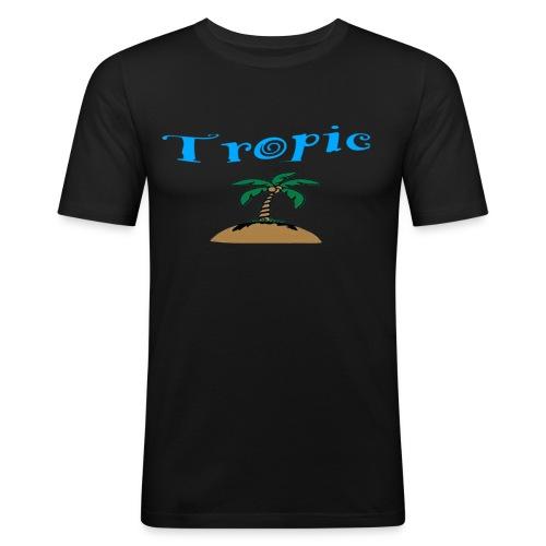 Tropic Shirt - Männer Slim Fit T-Shirt