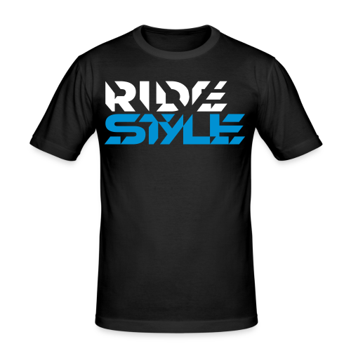 Ride Style - Männer Slim Fit T-Shirt