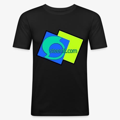 Steemit.com Promotion T - Men's Slim Fit T-Shirt