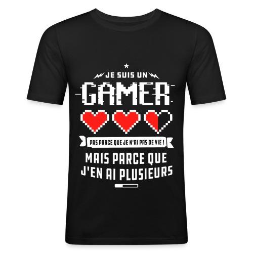 T-shirt Gamer - T-shirt près du corps Homme