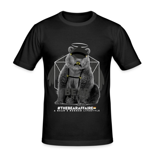 TBA Shirts Male BEARLINE Daddy Bear - Männer Slim Fit T-Shirt
