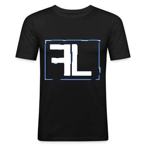 FL Logo - Männer Slim Fit T-Shirt