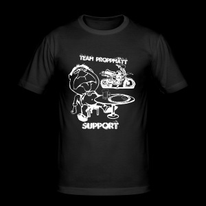 Support - Slim Fit T-shirt herr