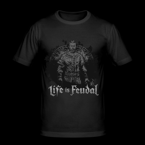 Life is Feudal SteamBadge 2 - T-shirt près du corps Homme