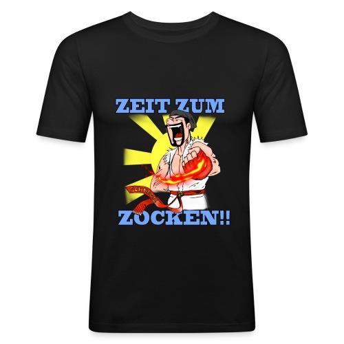 Zeit zum Zocken!! - Männer Slim Fit T-Shirt