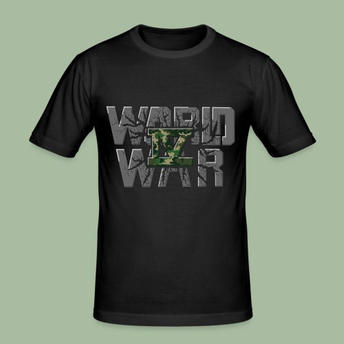 World War 4 - T-shirt près du corps Homme