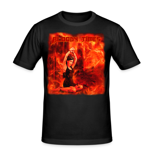 Bloody Times - The Fire of Immortality - Men's Slim Fit T-Shirt