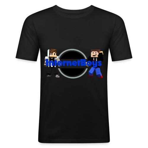 InternetBoys Merch - Männer Slim Fit T-Shirt