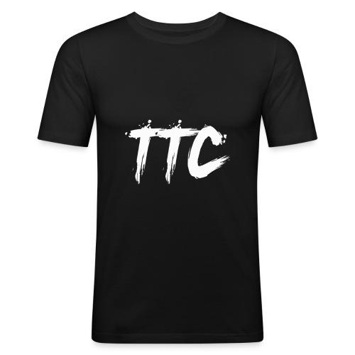 TimeCrust Merch Boi - Men's Slim Fit T-Shirt