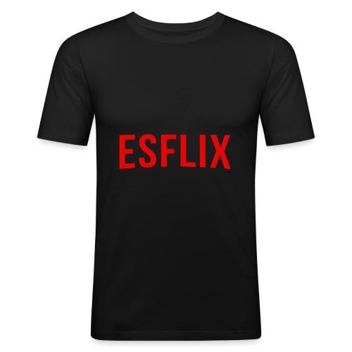 Esflix - Maglietta aderente da uomo