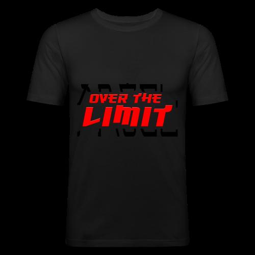 OVER THE LIMIT - Männer Slim Fit T-Shirt