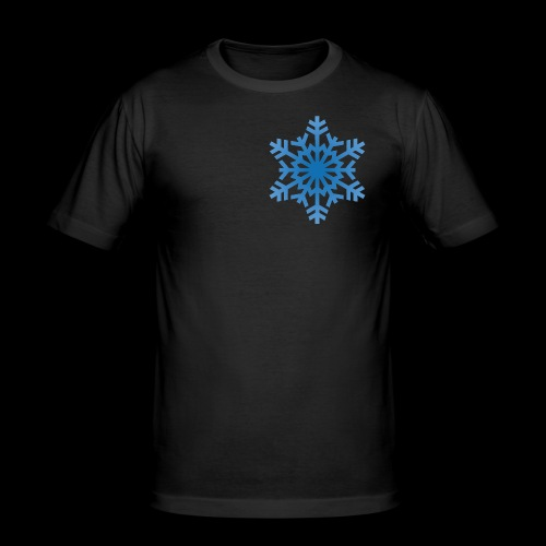 Snowflake - Herre Slim Fit T-Shirt
