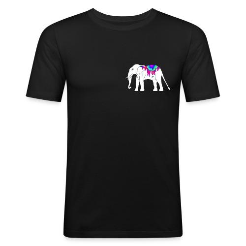 NOMINDSOUND LOGO - Männer Slim Fit T-Shirt