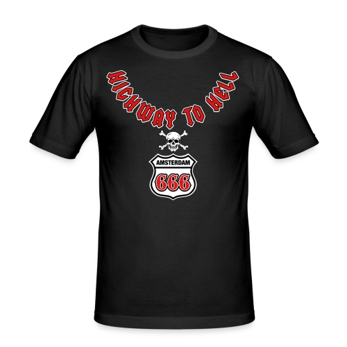 Highway 2 hell amsterdam - slim fit T-shirt