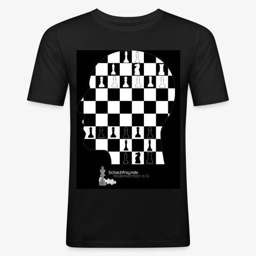 Schachfreunde Rodenkirchen - Männer Slim Fit T-Shirt