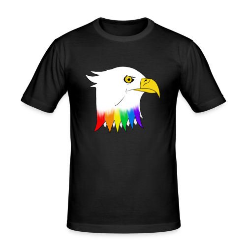Pride Eagle - Men's Slim Fit T-Shirt