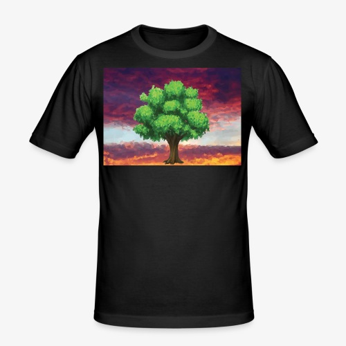 Tree in the Wasteland - Men's Slim Fit T-Shirt