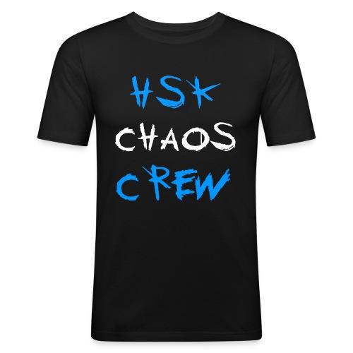 HSK CHAOS CREW - Männer Slim Fit T-Shirt