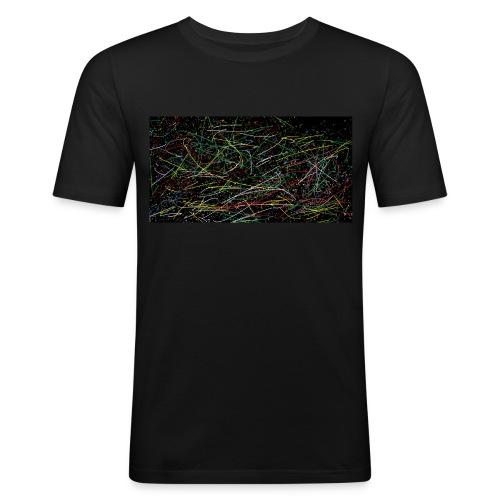 Sei dein eigener picasso - Männer Slim Fit T-Shirt