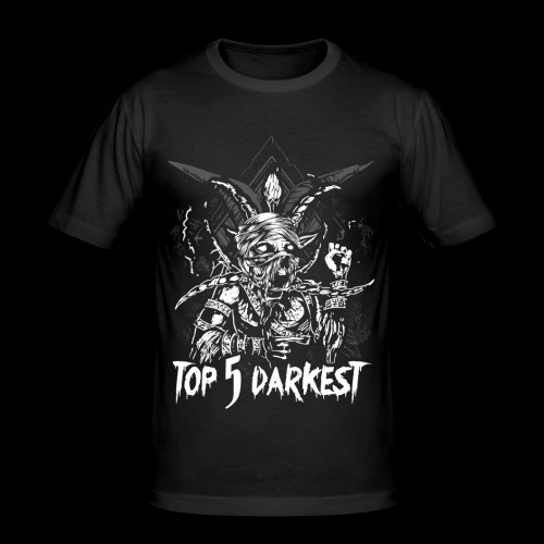 Top 5 Darkest - Men's Slim Fit T-Shirt