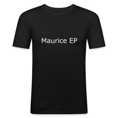 Maurice EP Schriftzug - Männer Slim Fit T-Shirt