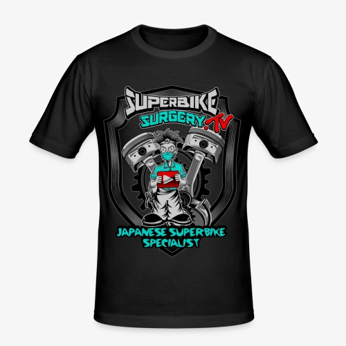 Superbike Surgery TV - Men's Slim Fit T-Shirt