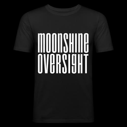 Moonshine Oversight blanc - T-shirt près du corps Homme
