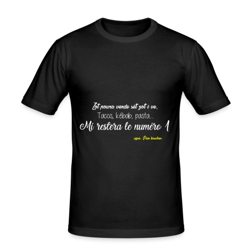 Bouchon - T-shirt près du corps Homme