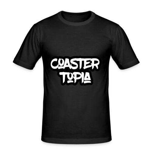 Coastertopia Logo - slim fit T-shirt