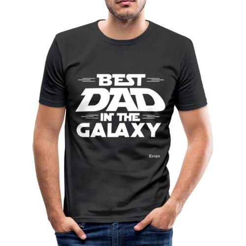 Best Dad in the Galaxy ! - T-shirt près du corps Homme