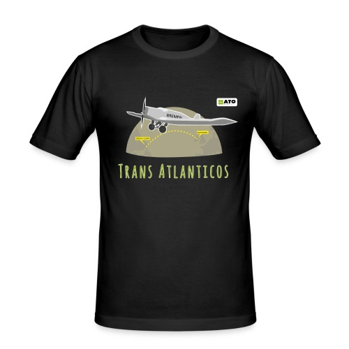 Trans Atlanticos - Männer Slim Fit T-Shirt