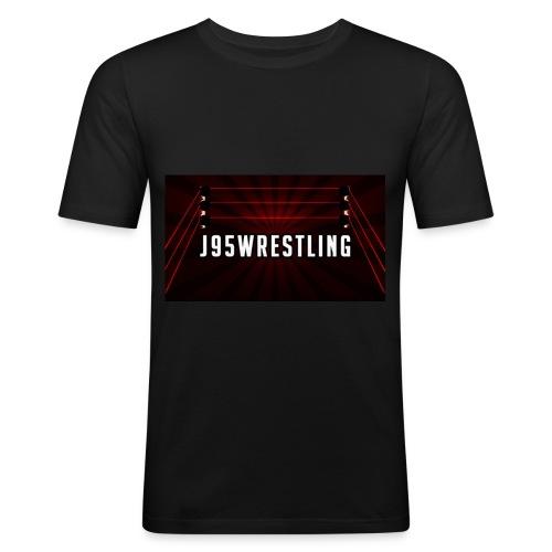 A Simple Design For Wrestling Fans - Men's Slim Fit T-Shirt
