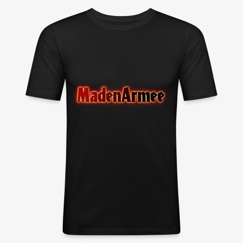 MadenArmee - Männer Slim Fit T-Shirt